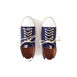 VISVIM - PRIMA LACE-UP-FOLK NAVY