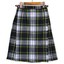 O'NEIL OF DUBLIN - EASY KILT MIDI SKIRT (BlackWatch)