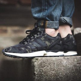adidas originals - ITALIA INDEPENDENT × ADIDAS ORIGINALS ZX FLUX CAMO