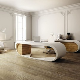 Babini - modern and creative Goggle Desk Design for office by Danny Venlet