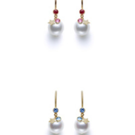 TASAKI×MHT - - eclipse earrings -