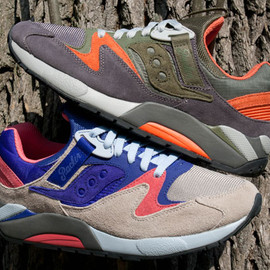 Saucony, Packer Shoes - Grid 9000 Trail Pack for Packer Shoes