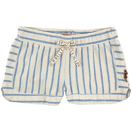 SCOTCH & SODA - Striped jersey shorts