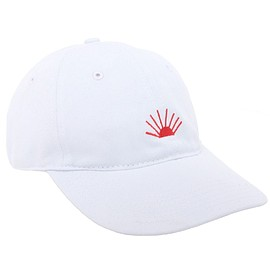 Gosha Rubchinskiy - Cotton Baseball Embroidery Cap (White)