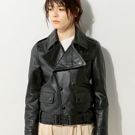 HYKE - Motorcycle Leather Jacket