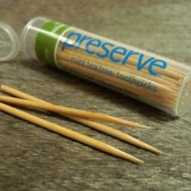 Mint Tea Tree Flavored Toothpick
