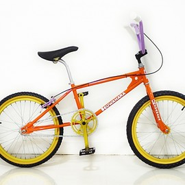 "KUWAHARA KZ-01 ""HERMES ORANGE"" CANDYRIM BIKEWORKS SPECIAL CUSTOM LTD."