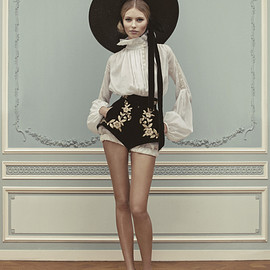 ULYANA SERGEENKO - Couture S/S 2013 LOOKBOOK