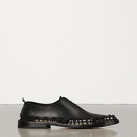 BOTTEGA VENETA - lace-up shoes in storm cuir