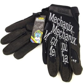 MECHANIX - *MECHANIX* the original glove BL special (black/reflector)