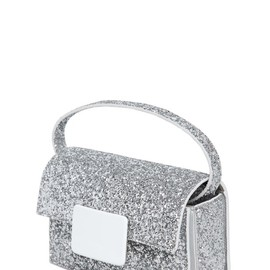 SAINT LAURENT - FW2014 LULU BUNNY GLITTER ON LEATHER BAG