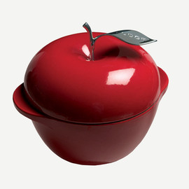 LODGE APPLE POT RED E3AP40