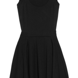 miu miu - Ruffled stretch-jersey mini dress