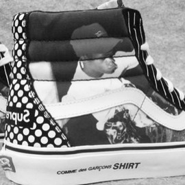 Supreme, COMMES des GARCONS SHIRT, Harold Hunter - Vans x Supreme x COMMES des GARCONS SHIRT