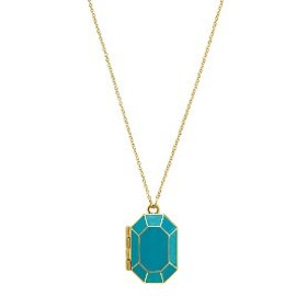 kate spade - jewelbar enamel locket