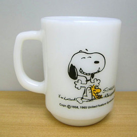 Fire King - Snoopy Good Day mug cup