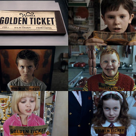 WONKA - GOLDEN TICKET