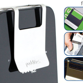Poddities - Money Clip for iPhone 4S/4