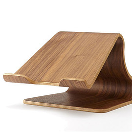 MOKU - Desktop Stool - Walnut (Brown)