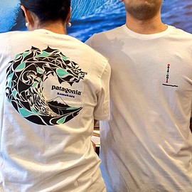 Patagonia - Hokusai Wave Kamakura T-Shirt (Big O project design)