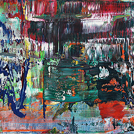 Gerhard Richter - Abstract Painting (939-6), 2015, oil on canvas, 58×72cm