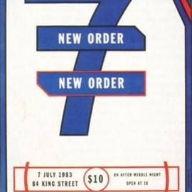 Lawrence Weiner - New Order Poster 1983