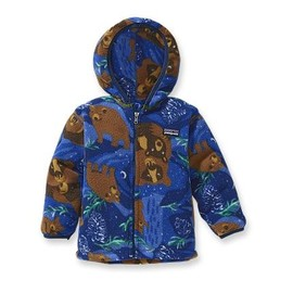 Patagonia - Baby Synchilla Cardigan - Nighttime Bears