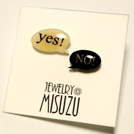 JEWELRY MISUZU - yes!NO!ピアス
