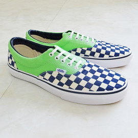 "VANS - VANS ""CLASSIC"" ERA [(VAN DOREN) CHECKER / GREEN"