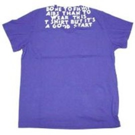 Maison Martin Margiela - AIDS T-Shirt Purple