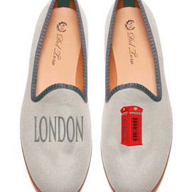 Del Toro - london telephone booth loafers