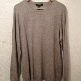 RALPH LAUREN - Silk×Cashmere Knit Sweater
