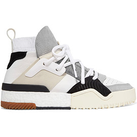 ALEXANDER WANG, adidas - Adidas Originals By Alexander Wang Suede-trimmed leather high-top sneakers