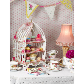 Talking Tables - Birdcage patisserie stand