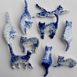 Harriet Demave - Porcelain Delft Jewelry