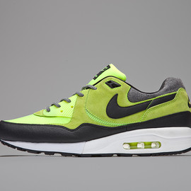 Nike, Size? - Air Max Light - Endurance Pack (Black/Grey/Volt?)