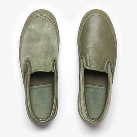 ENGINEERED GARMENTS, VANS - VAULT by VANS for ENGINEERED GARMENTS CLASSIC SLIP-ON LX