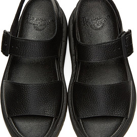 Dr. Martens - Black Romi Sandals