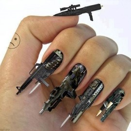 Machine Gun Nails