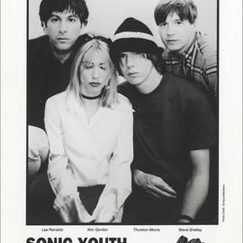 Sonic Youth - Sonic Youth Dirty USA Promo media press pack