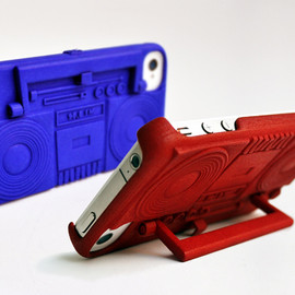 Boombox Case & Stand for iPhone 4 & 4S