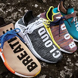 adidas originals, Pharrell Williams - adidas Originals × Pharrell Williams FW17 Hu NMD Sneakers