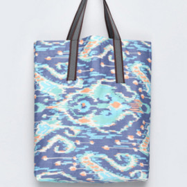 bluespot - 【KRAVITZ】Ethnic Pattern Eco Bag(BLUE)