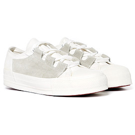 Needles - Asymmetric Sneaker - Ghillie / Cap White