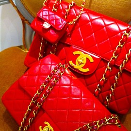 CHANEL - Red!!!!
