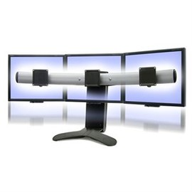 MXV Desk Mount LCD Monitor Arm, White