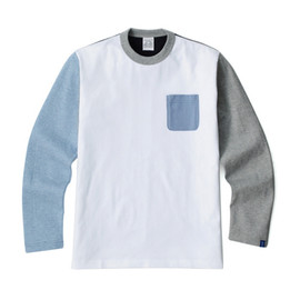 LOOPWHEELER - LW Tee Multi color L/S T-shirts