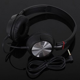 SONY - MDR-ZX300 Black