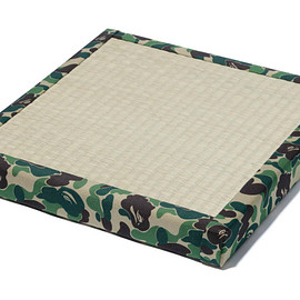 A BATHING APE - ABC TATAMI CUSHION