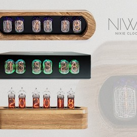 Yauheni Artsimouski & Dzianis Obukhau - NIWA-Modern trends and classic shine of Nixie clock.2.0.
